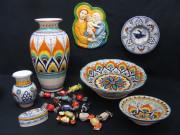 ceramica di Faenza: composizione natalizia