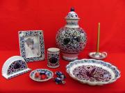 Ceramiche di Faenza, decorazione Melograno