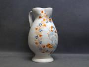 brocca con Amorino, ceramica di Faenza stile Compendiario