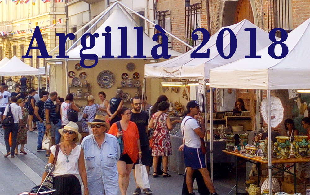 Argillà 2018 si tiene a Faenza (RA)