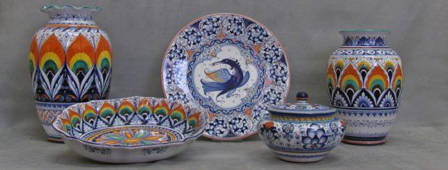 artistic pottery La Vecchia Faenza